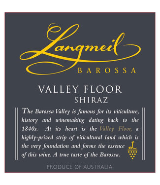 Langmeil Langmeil Shiraz 'Valley Floor' (2014)