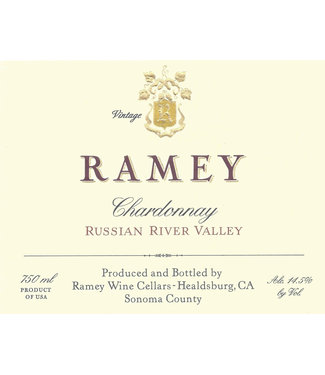 Ramey Wine Cellars Ramey Chardonnay 'Russian River Valley (2018) 375ml