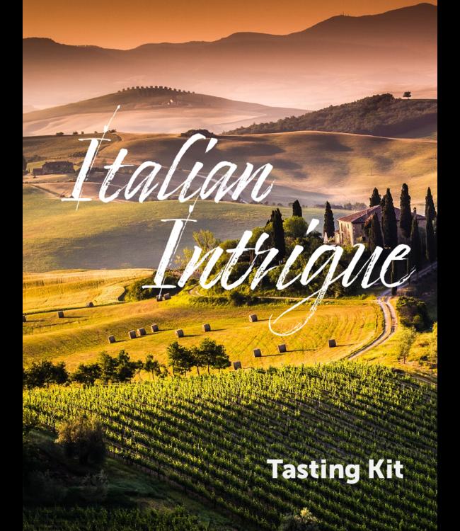 Italian Intrigue Wine Tasting Kit
