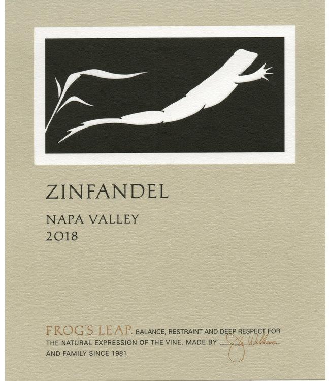 Frog's Leap Zinfandel (2018)