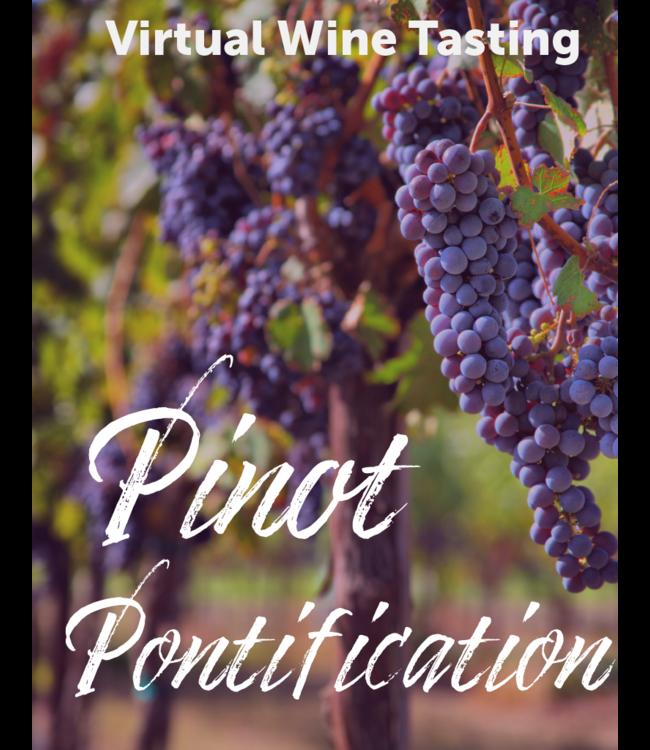 Pinot Pontification Tasting Kit