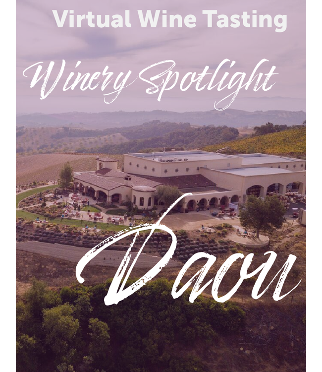 DAOU Vineyards Winery Spotlight Tasting Kit