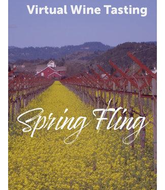 Virtual@Vintage Spring Fling Wine Tasting Kit