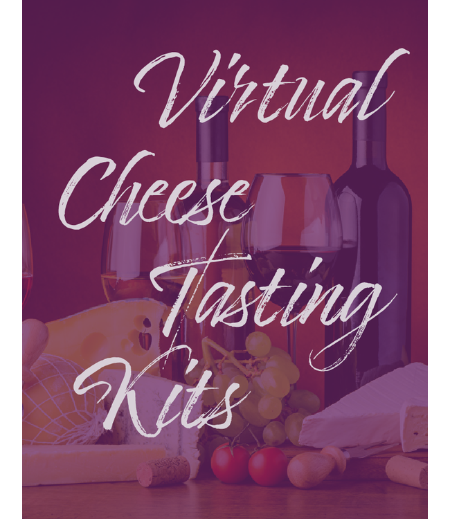 Virtual Cheese Tasting - Apr 9