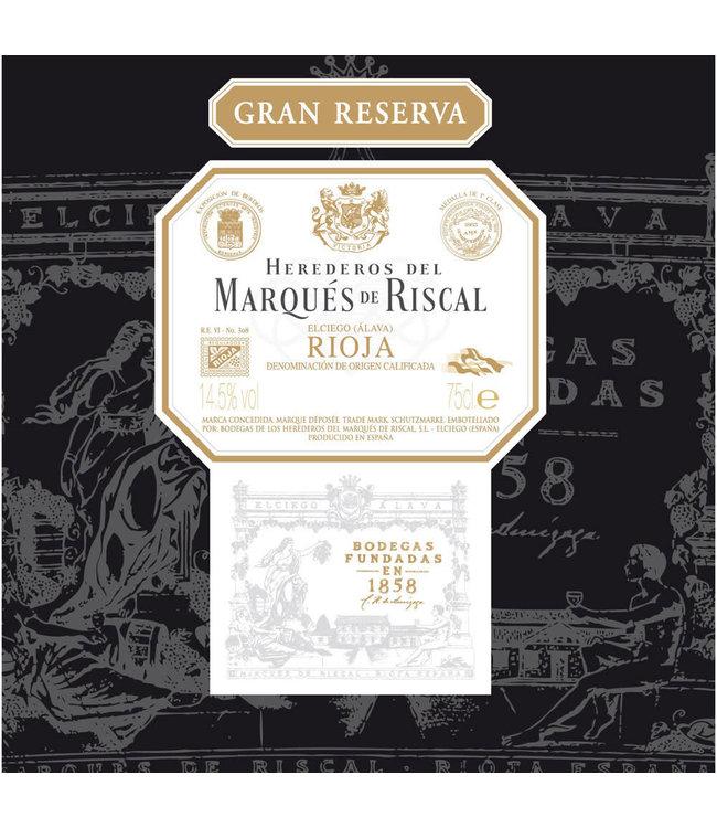 Marques de Riscal Rioja Gran Reserva (2012)