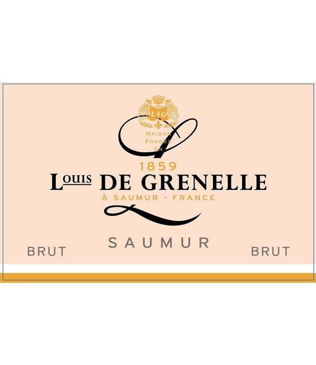 Louis de Grenelle Saumur 'Corail' Rose Brut (N.V.)