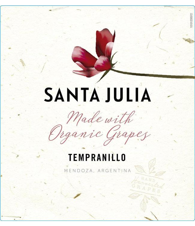 Bodega Santa Julia Tempranillo 'Organic' (2020)