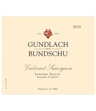 Gundlach Bundschu Gundlach Bundschu Cabernet Sauvignon (2016)