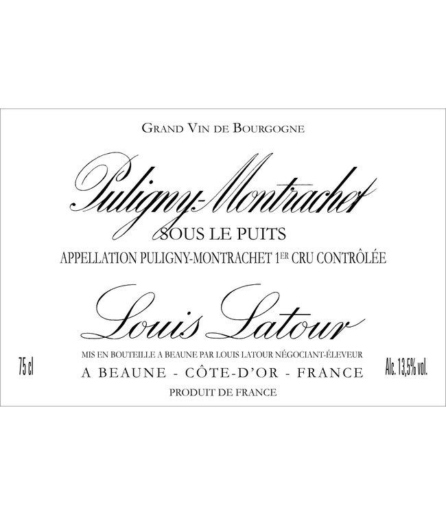 Domaine Larue Puligny-Montrachet 1er Cru 'Sous le Puits' (2018)