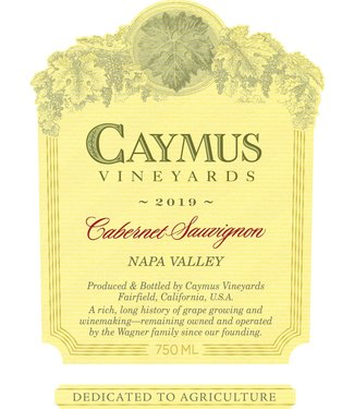 Caymus Vineyards Caymus Cabernet Sauvignon (2019) 375ml