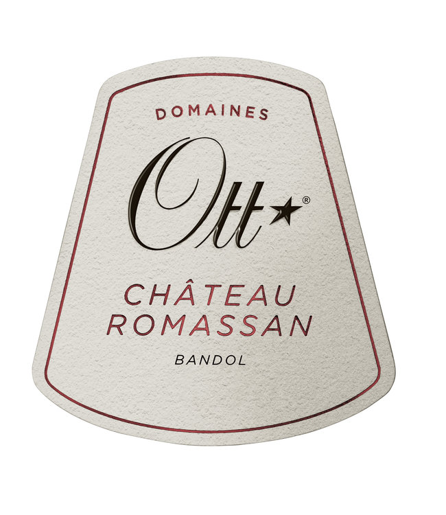 Domaines Ott Bandol Mourvedre Red 'Chateau Romassan' (2014)