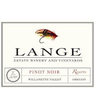 Lange Winery Lange Pinot Noir Estate 'Reserve' 2018