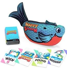Happy Salmon - Blue