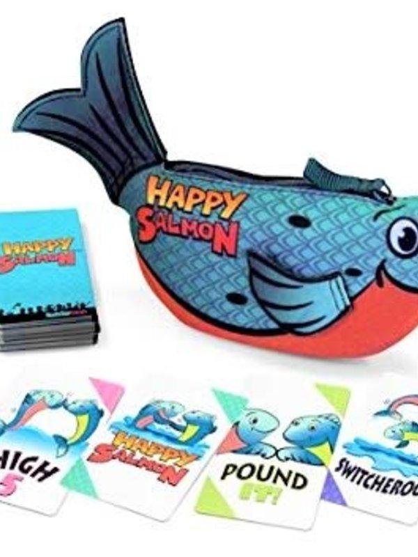 Happy Salmon - Blue