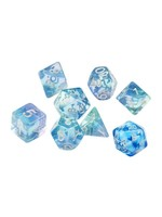 RPG Dice Set (7): Emerald Waters