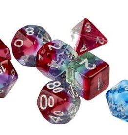 RPG Dice Set (7): Watermelon