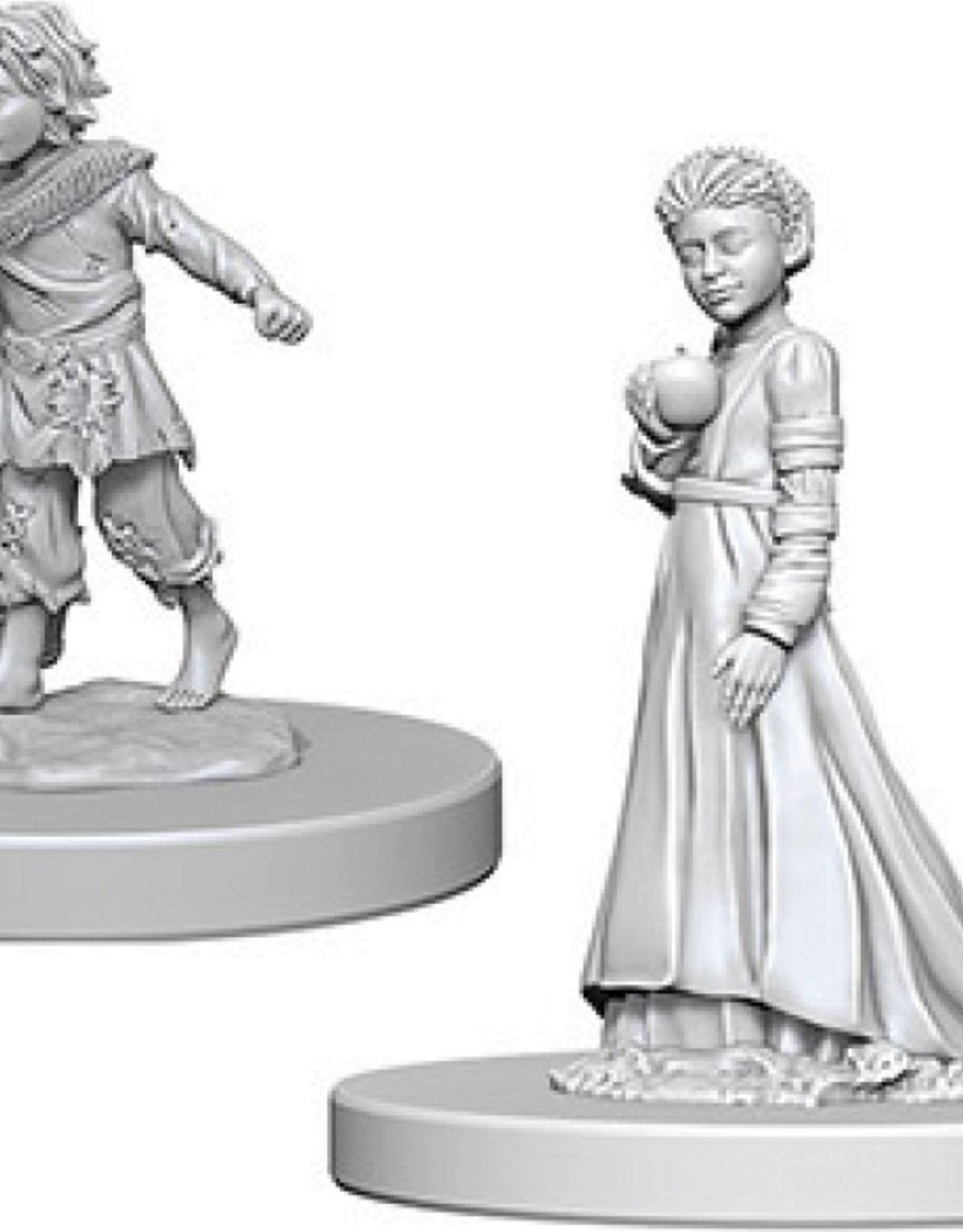 Pathfinder Deep Cuts Unpainted Miniatures: W4 Children