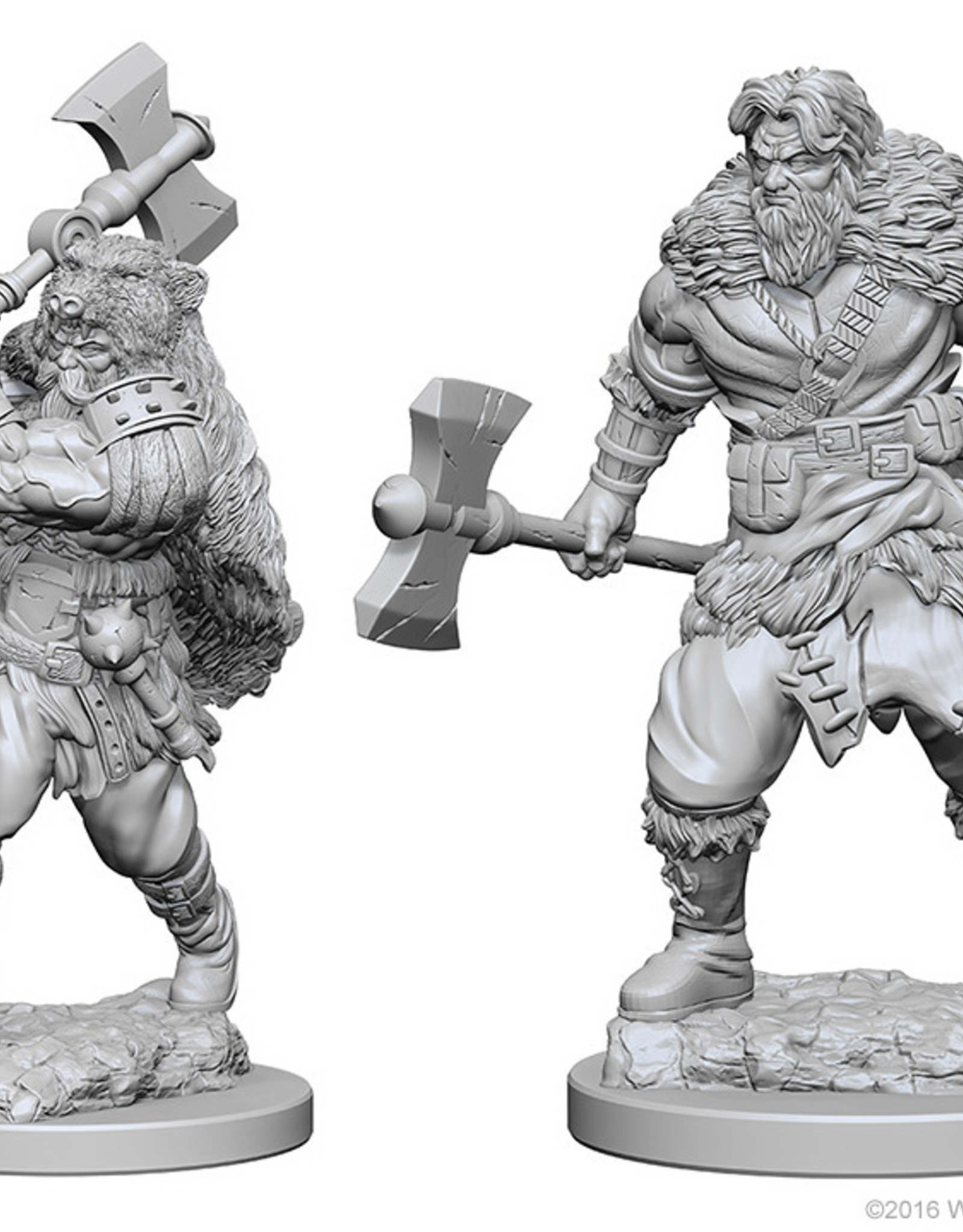 Dungeons & Dragons Nolzur`s Marvelous W1 Human Male Barbarian