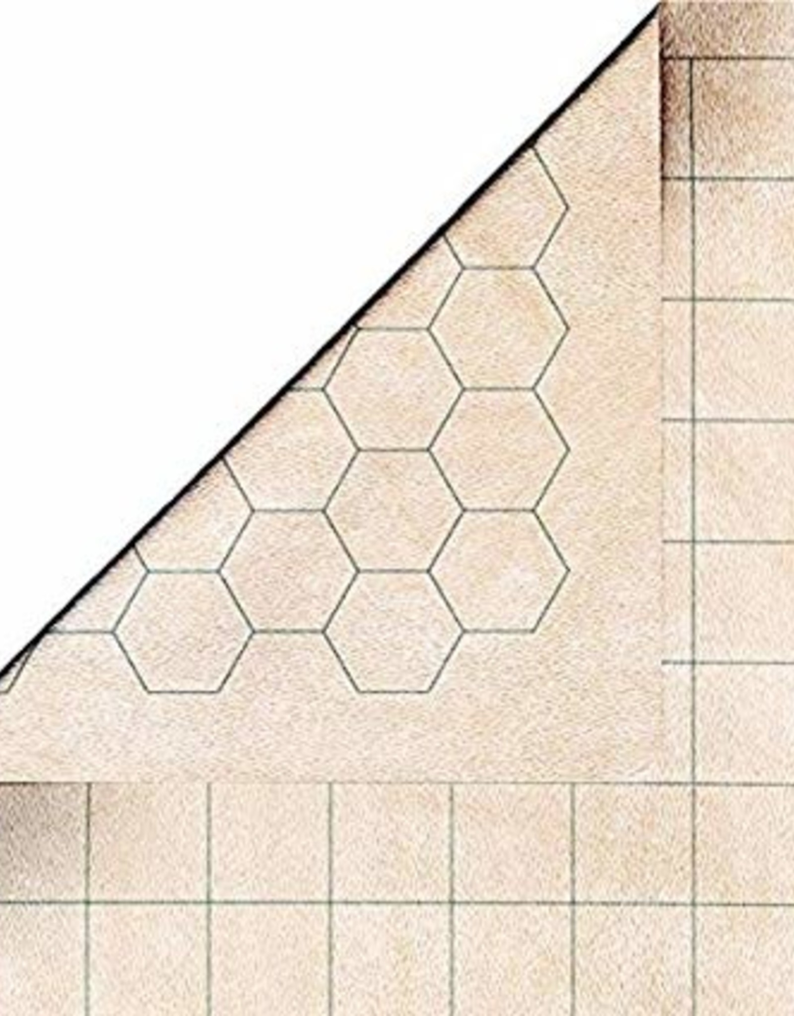 Double-Sided Megamat With 1 Inch Squares/Hexes