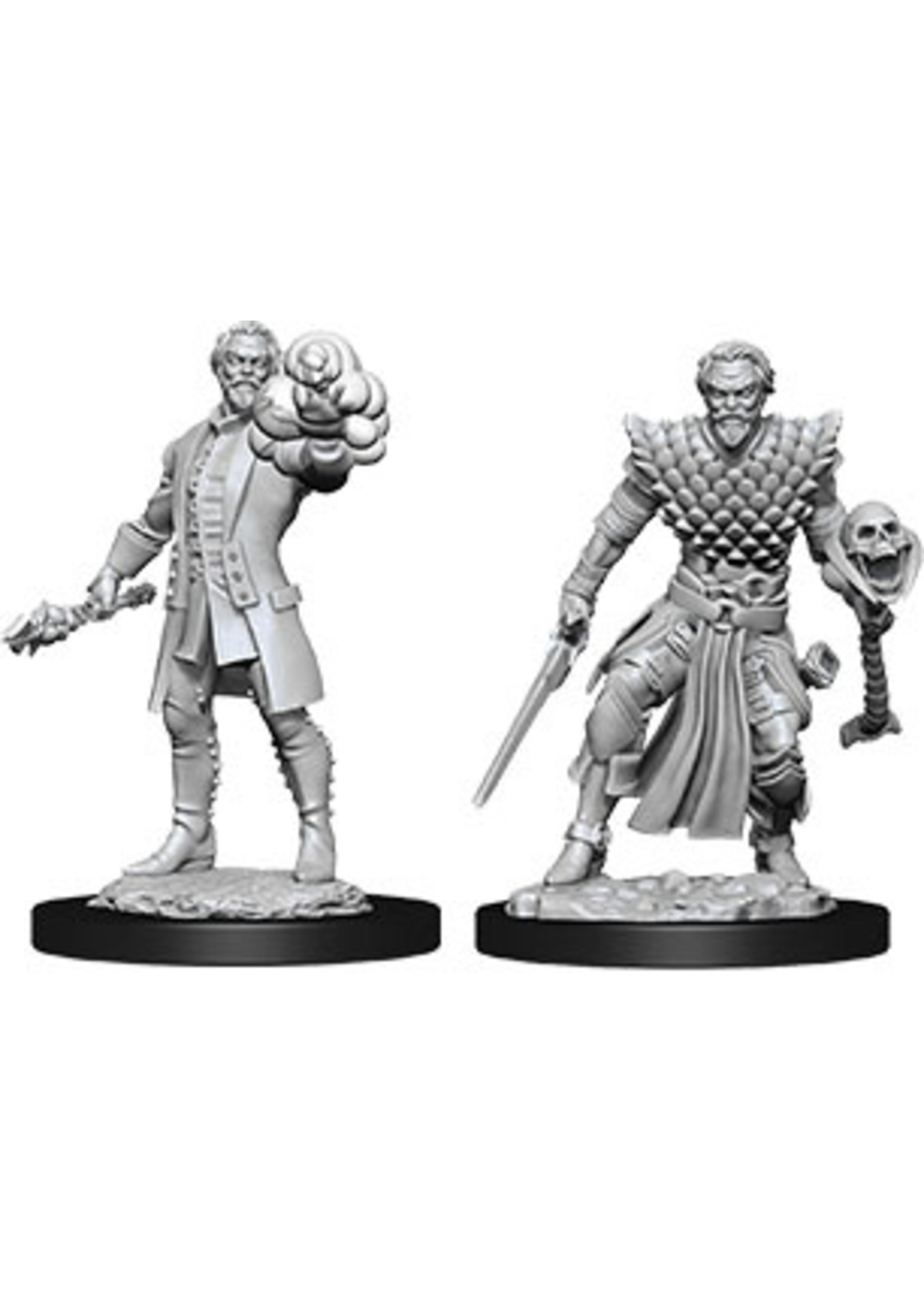 Dungeons & Dragons Nolzur`s Marvelous Unpainted Miniatures: W10 Male Human Warlock