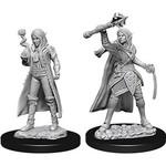Dungeons & Dragons Nolzur`s Marvelous Unpainted Miniatures: W10 Female Elf Cleric