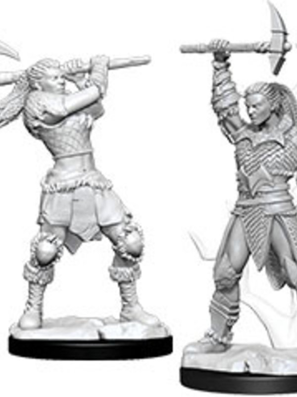 Dungeons & Dragons Nolzur`s W10 Female Goliath Barbarian