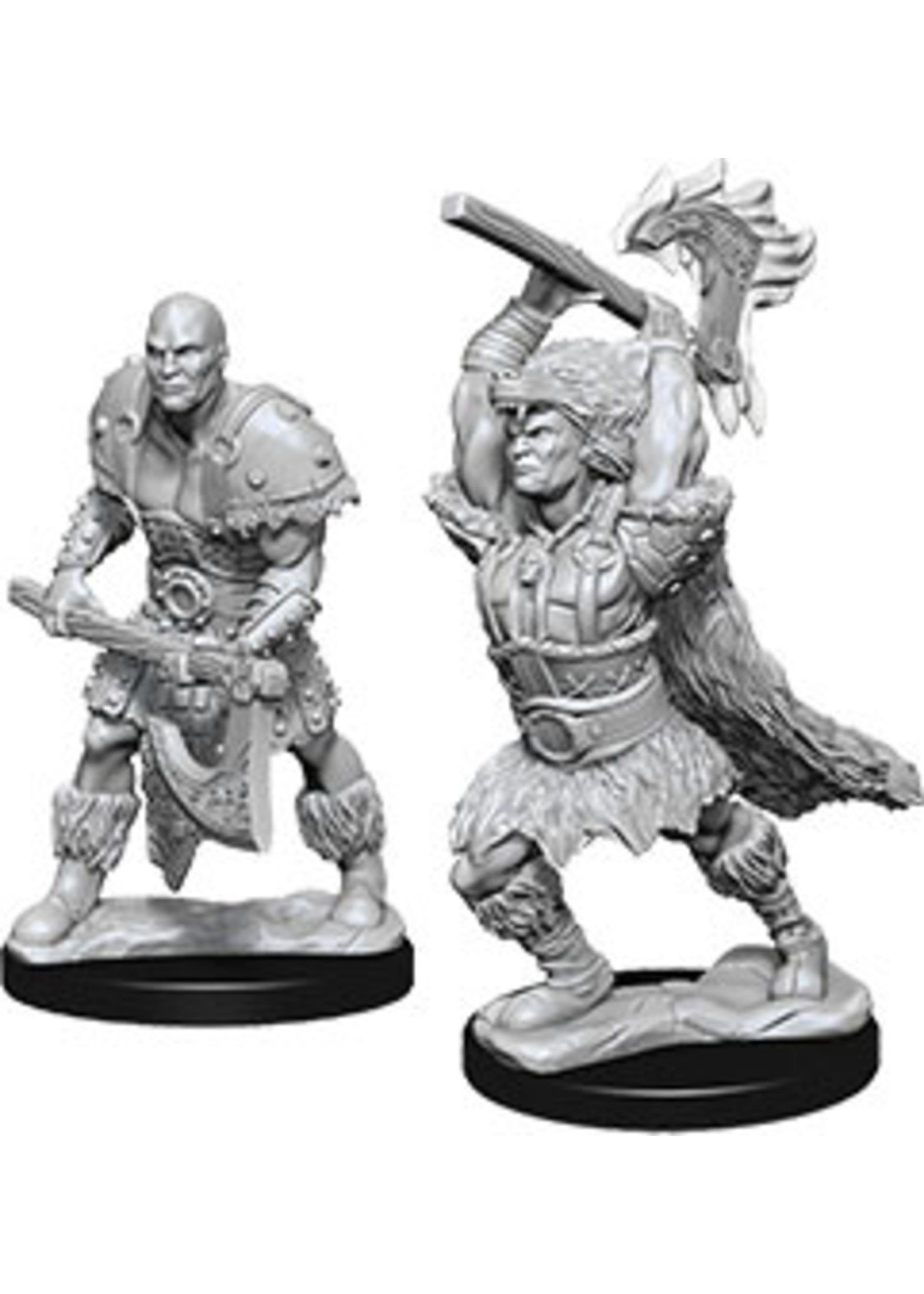 Dungeons & Dragons Nolzur`s Marvelous Unpainted Miniatures: W10 Male Goliath Barbarian