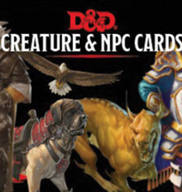 Dungeons and Dragons RPG: Creatures & NPC Cards (182 cards)