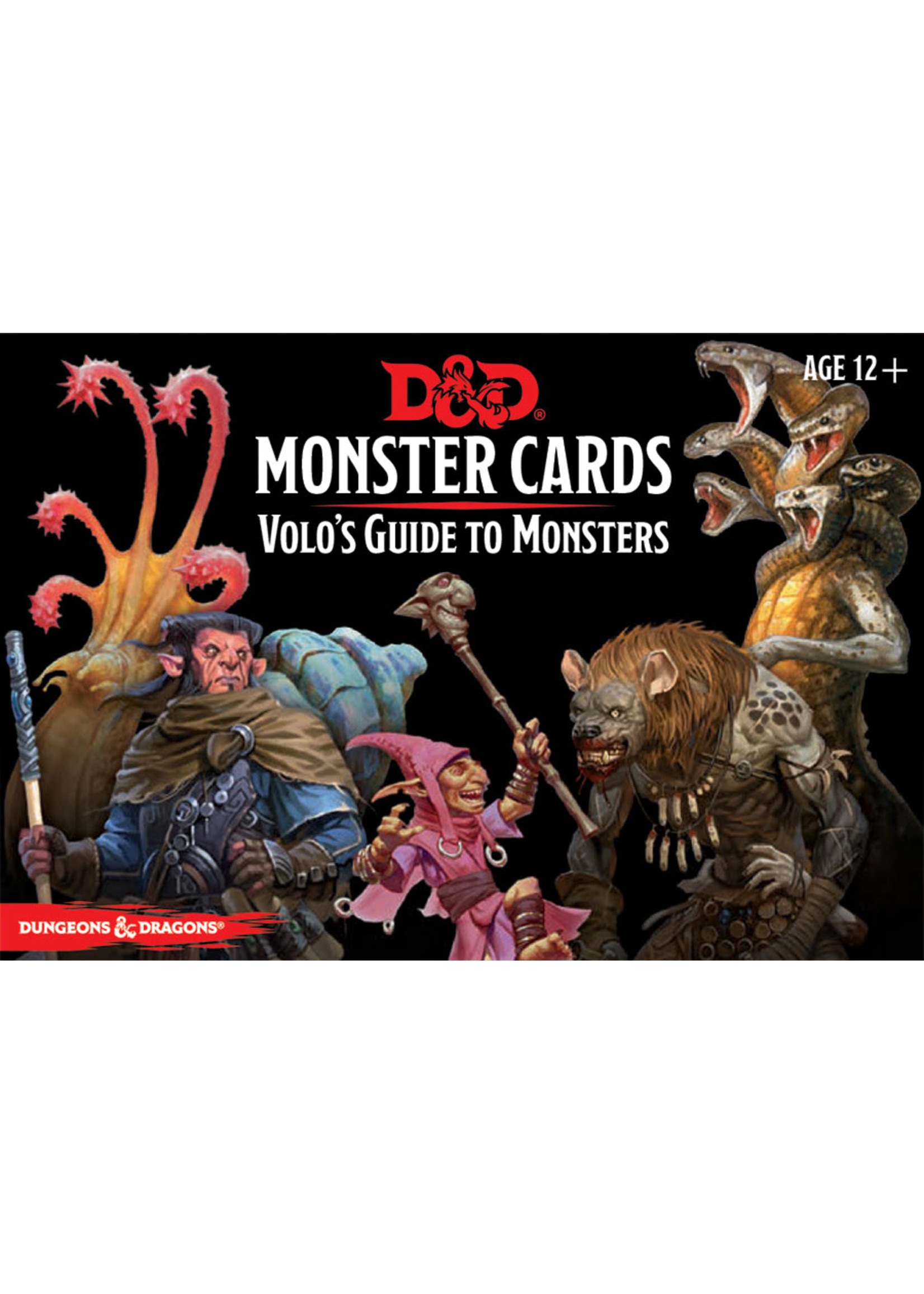 Dungeons and Dragons RPG: Monster Cards - Volo`s Guide to Monsters (81 cards)