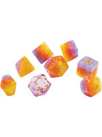 RPG Dice Set (7): Tahitian Sunset