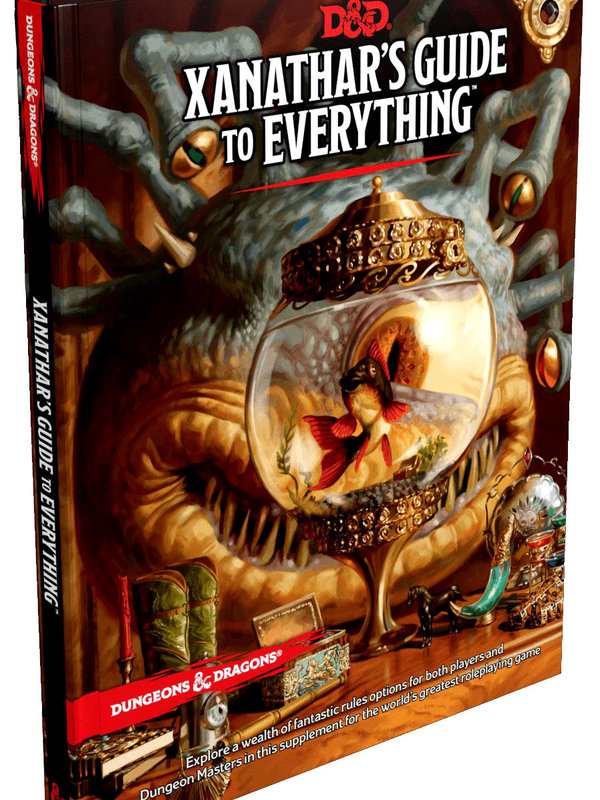 Dungeons and Dragons RPG: Xanathars Guide to Everything