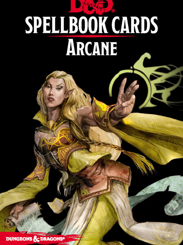 Dungeons and Dragons RPG: Spellbook Cards - Arcane Deck