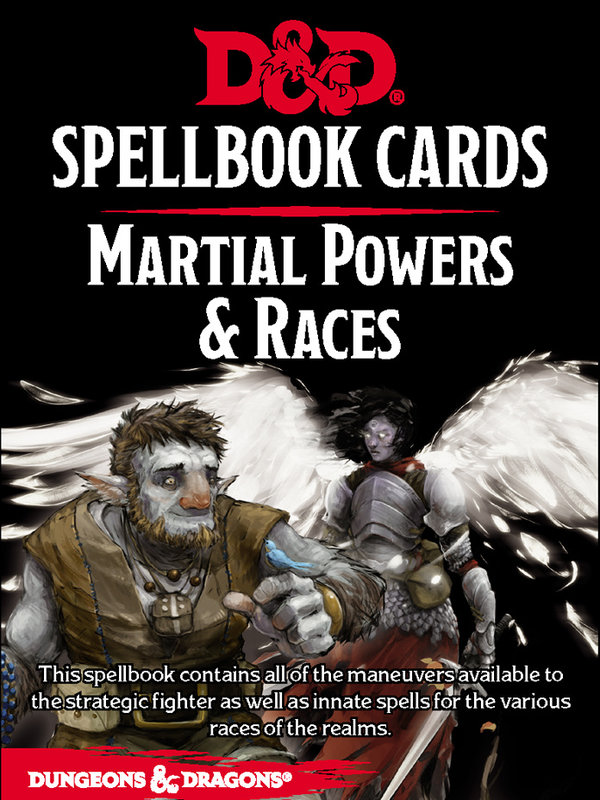Dungeons and Dragons RPG: Spellbook Cards - Martial Deck