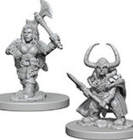 Dungeons & Dragons Nolzur`s Marvelous Dwarf Female Barbarian