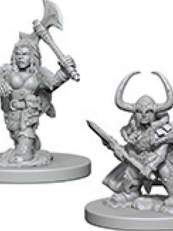 Dungeons & Dragons Nolzur`s Marvelous Dwarf Female Barbarian