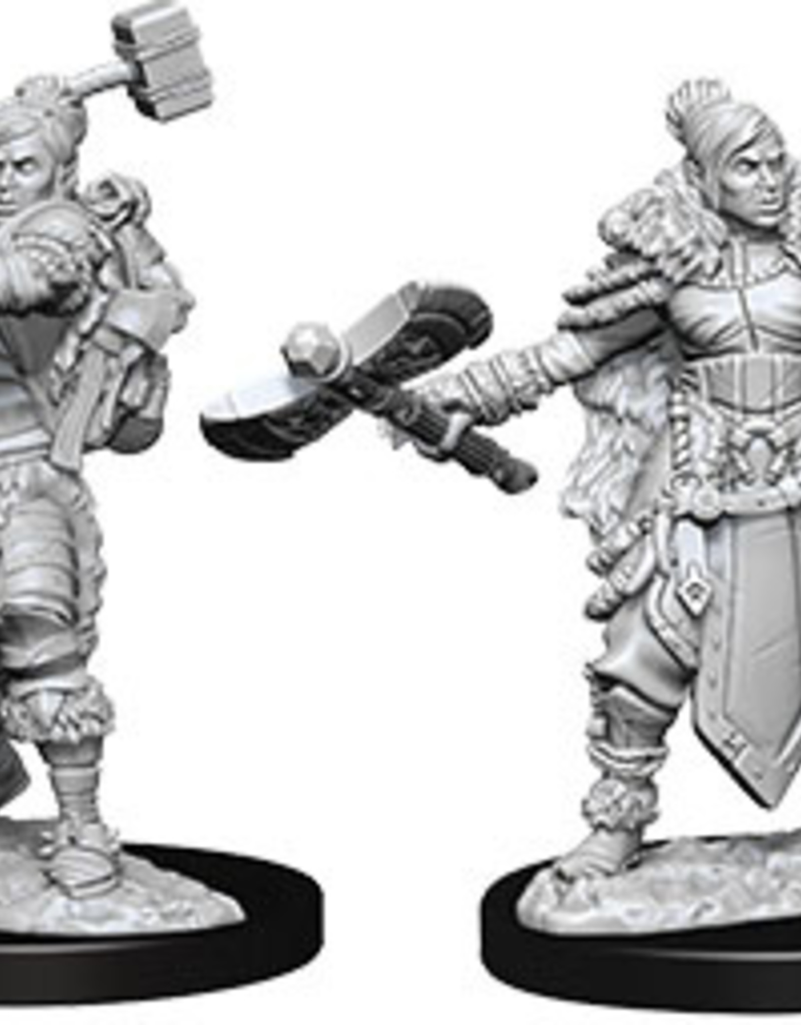 Dungeons & Dragons Nolzur`s Female Half-Orc Barbarian