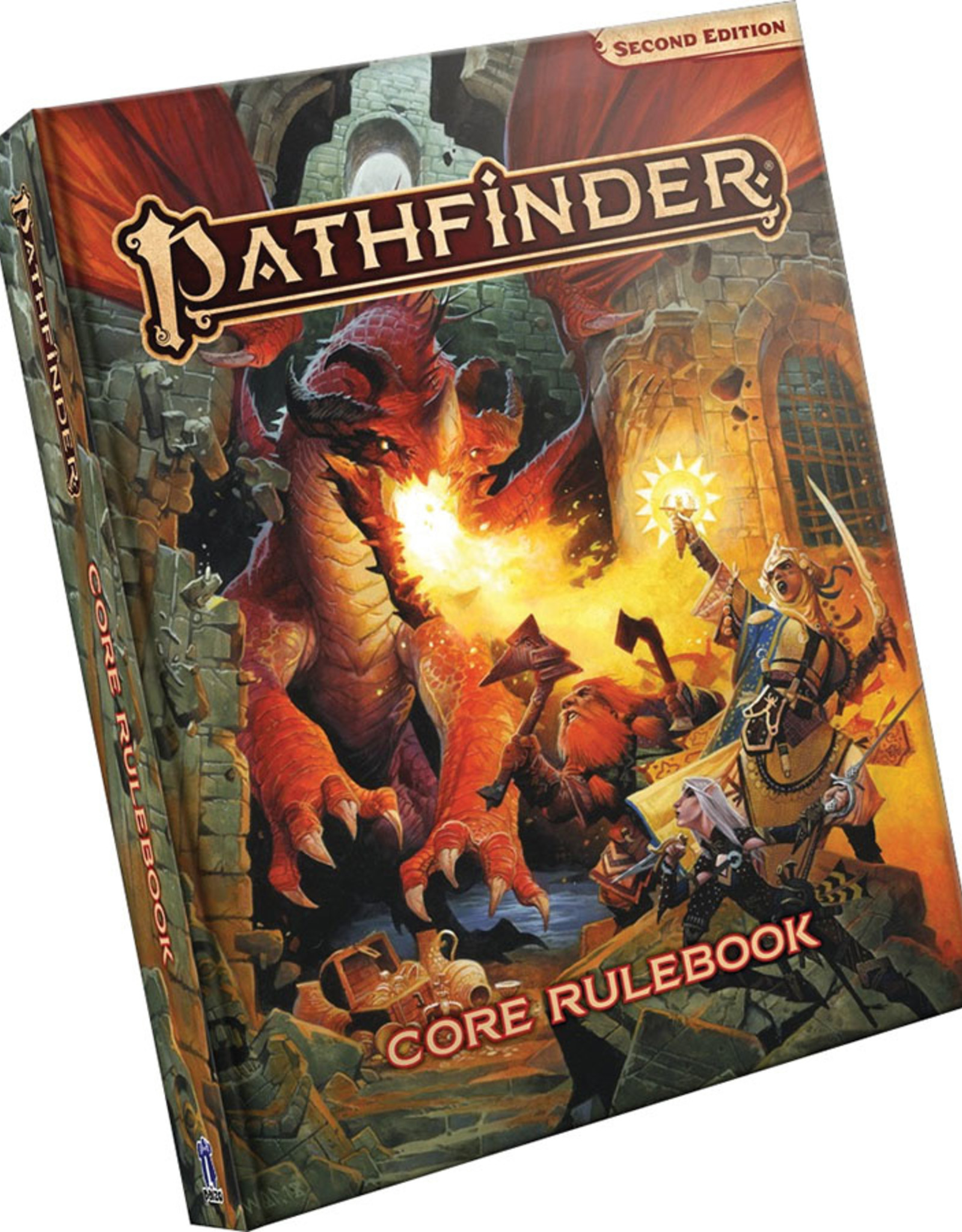 Pathfinder RPG: Core Rulebook Hardcover Second Edition