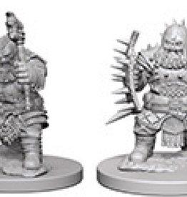 Pathfinder Deep Cuts Unpainted Miniatures: W4 Dwarf Male Barbarian