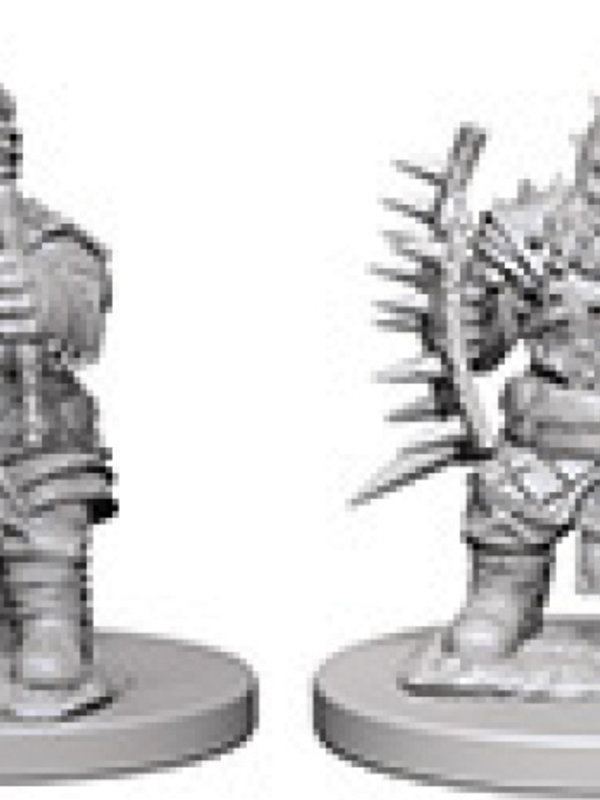 Pathfinder Deep Cuts Unpainted Miniatures: W4 Dwarf Male Barbarian