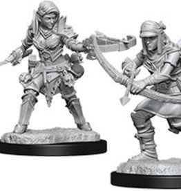 Pathfinder Deep Cuts Unpainted Miniatures: W7 Female Half-Elf Ranger