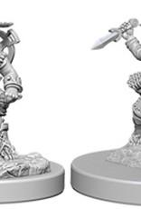 Pathfinder Deep Cuts Unpainted Miniatures: W6 Halfling Male Rogue
