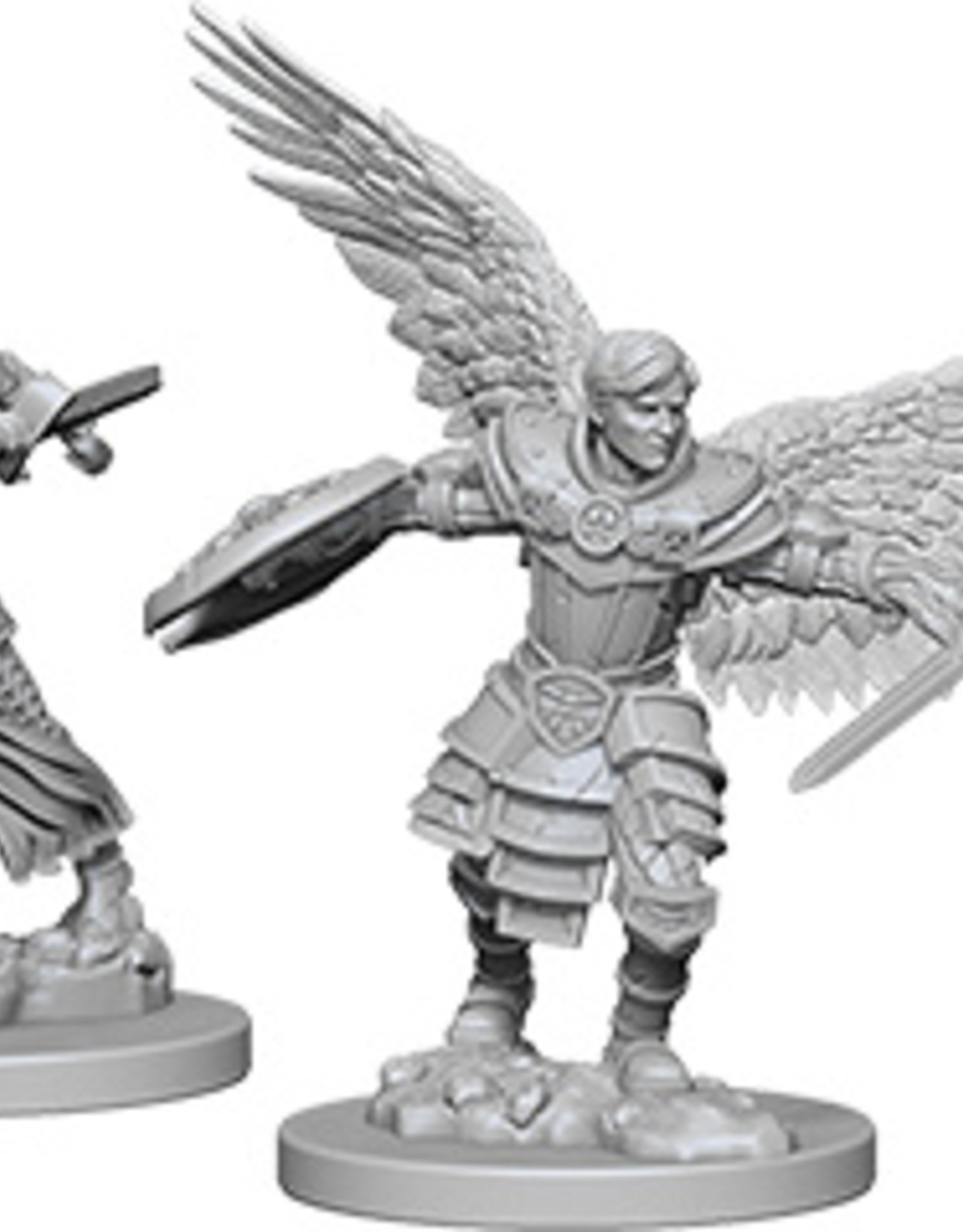 Dungeons & Dragons Nolzur`s Marvelous: Male Aasimar Fighter