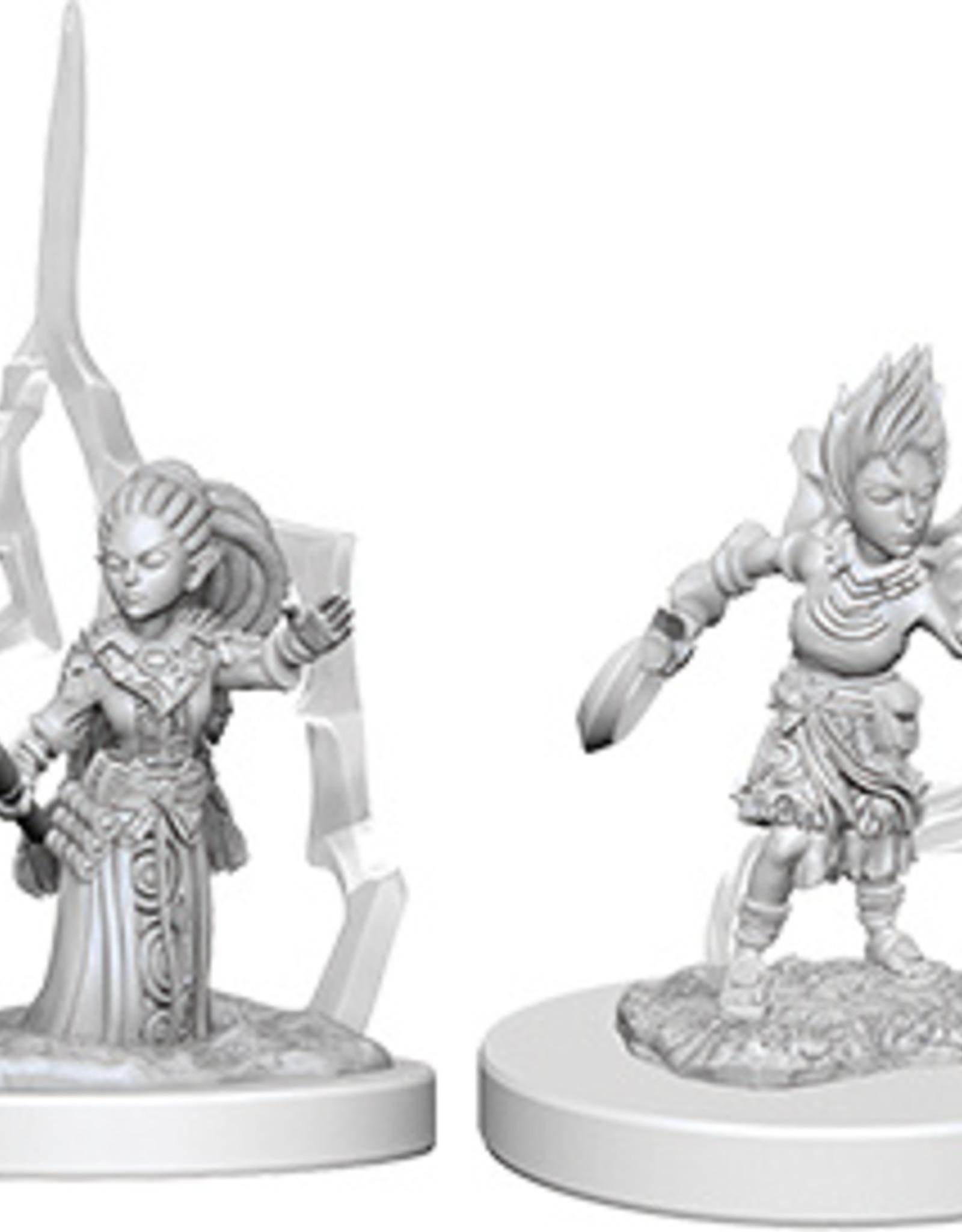 Pathfinder Deep Cuts Unpainted Miniatures: W5 Gnome Female Druid