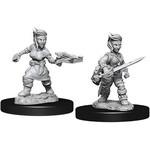 Pathfinder Deep Cuts Unpainted Miniatures: W8 Halfling Female Rogue