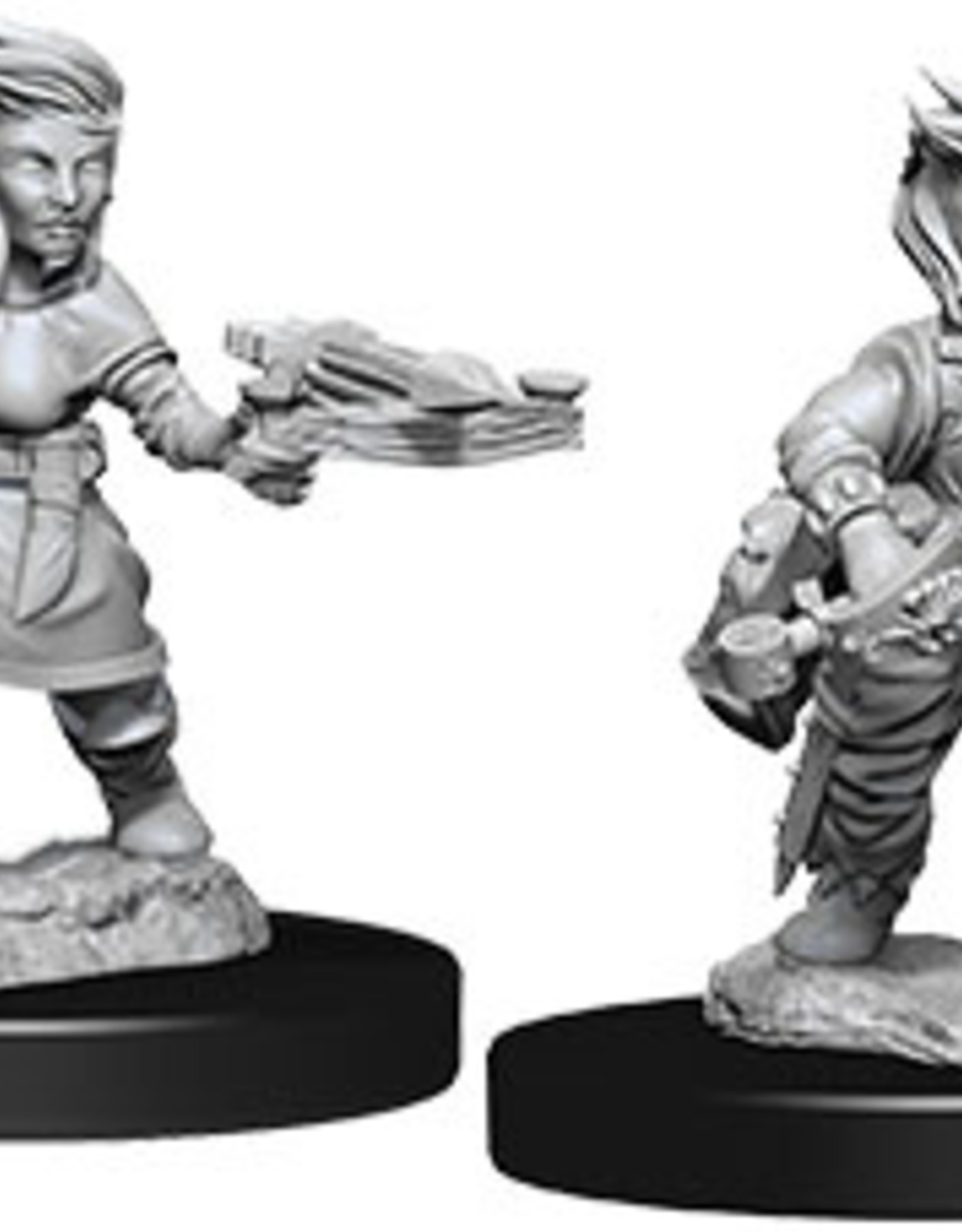 Pathfinder Deep Cuts Unpainted Miniatures: W8 Halfling Female Rogue