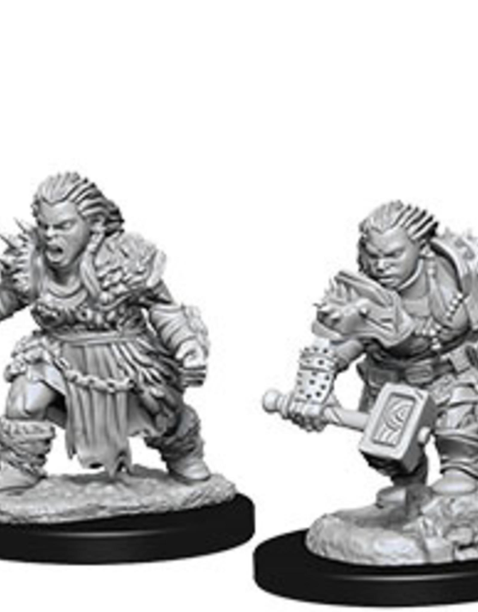 Pathfinder Deep Cuts Unpainted Miniatures: W8 Dwarf Female Barbarian