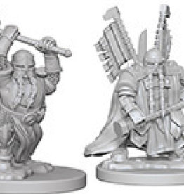 Dungeons & Dragons Nolzur`s Marvelous: Dwarf Male Paladin
