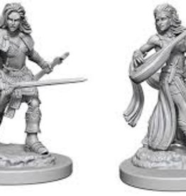 Pathfinder Deep Cuts Unpainted Miniatures: W1 Elf Female Bard