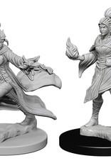 Pathfinder Deep Cuts Unpainted Miniatures: W1 Elf Female Sorcerer