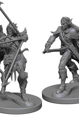 Pathfinder Deep Cuts Unpainted Miniatures: W1 Elf Male Fighter